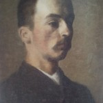 Hammershøi self portrait