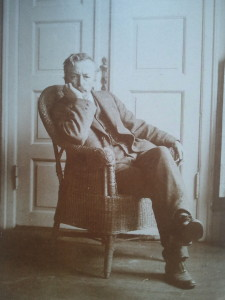 Hammershøi sat in his armchair